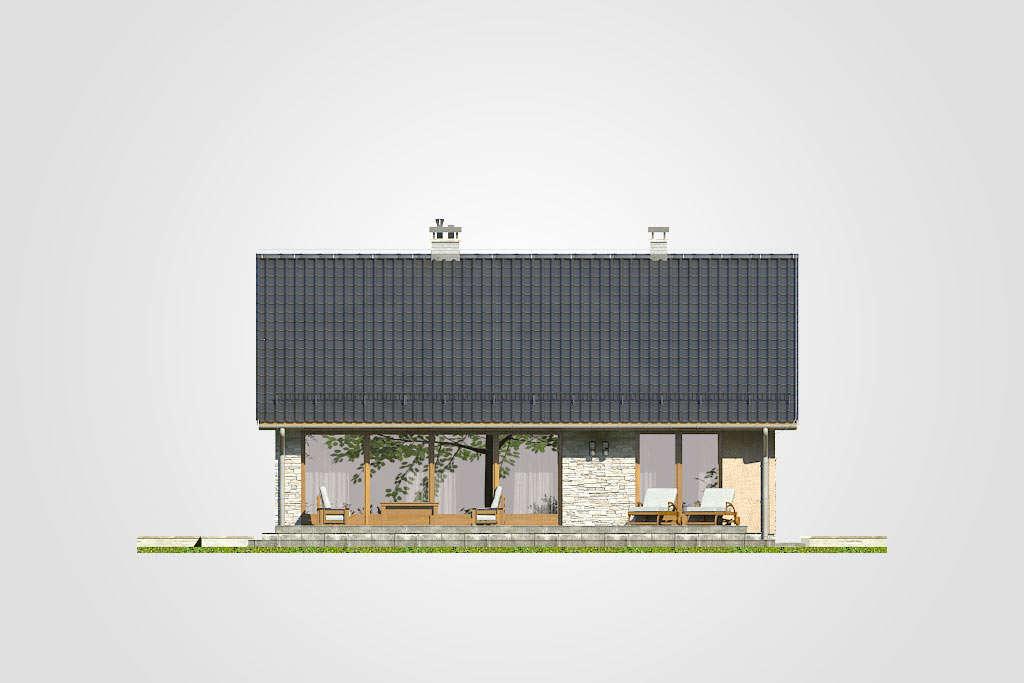 Studio Atrium Ricardo X elewacj ogrod